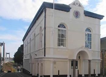 The Guildhall meeting venue Saltash